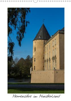 Herrensitze im Münsterland (Wandkalender 2020 DIN A3 hoch) von Bücker,  Michael, Grasse,  Dirk, Hegerfeld-Reckert,  Anneli, Uppena,  Leon