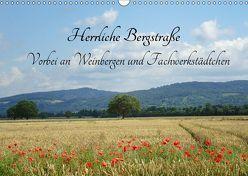 Herrliche Bergstraße Vorbei an Weinbergen und Fachwerkstädtchen (Wandkalender 2019 DIN A3 quer) von Andersen,  Ilona