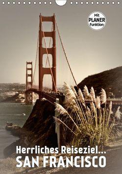 Herrliches Reiseziel… SAN FRANCISCO (Wandkalender 2019 DIN A4 hoch) von Viola,  Melanie