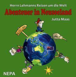 Herrn Lehmanns Reisen um die Welt von Krautmacher,  Henning, Maas,  Jutta