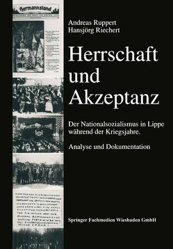 Herrschaft und Akzeptanz von Riechert,  Hansjörg, Ruppert,  Andreas