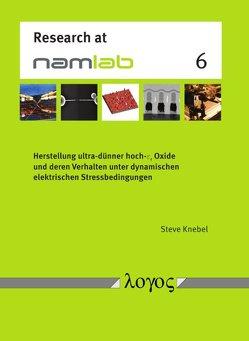 Herstellung ultra-dünner hoch- varepsilonâr Oxide und deren Verhalten unter dynamischen elektrischen Stressbedingungen von Knebel,  Steve