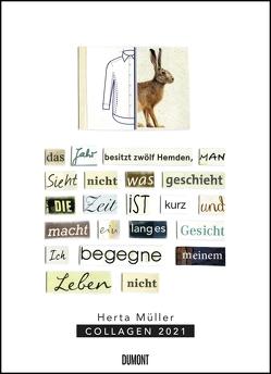 Herta Müller: Collagen 2021 – Poster-Kalender – Format 49,5 x 68,5 cm von Mueller,  Herta