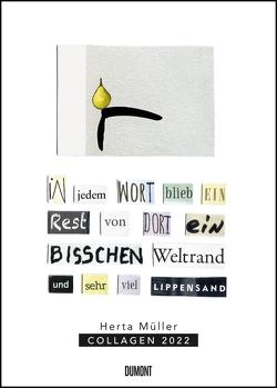 Herta Müller: Collagen 2022 – Literaturnobelpreisträgerin – Poster-Kalender – Format 50 x 70 cm von Mueller,  Herta