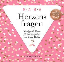Herzensfragen MAMA von Heinemann,  Ilka, Kuhlemann,  Matthias, Vliet,  Elma van