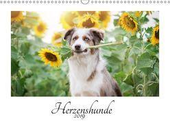 Herzenshunde 2019 (Wandkalender 2019 DIN A3 quer) von Kudla,  Madlen