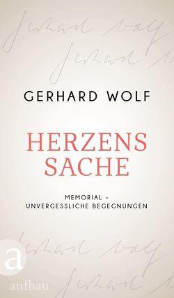 Herzenssache von Wolf,  Gerhard