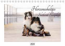 Herzensshelties – Shetland Sheepdogs (Tischkalender 2020 DIN A5 quer) von Kudla,  Madlen