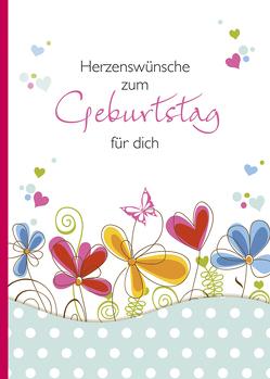 Herzenswünsche zum Geburtstag für dich von Wiesinger,  Maria