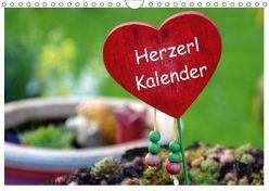 Herzerl Kalender (Wandkalender 2019 DIN A4 quer) von Winterl,  Gabi