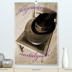 Herzerwärmend nostalgisch! (Premium, hochwertiger DIN A2 Wandkalender 2021, Kunstdruck in Hochglanz) von Marten,  Martina
