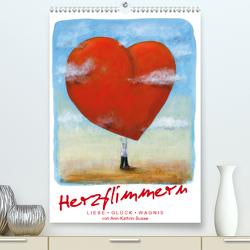 Herzflimmern (Premium, hochwertiger DIN A2 Wandkalender 2021, Kunstdruck in Hochglanz) von Busse,  dieKleinert.de/Ann-Kathrin