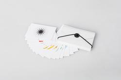 Herzgeometrie Kartenset im Etui, 21 Karten – Spuren hinterlassen – von Özen,  Ilknur