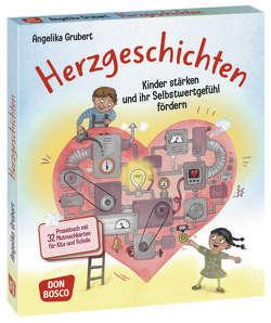 Herzgeschichten. Kinder stärken und ihr Selbstwertgefühl fördern von Grubert,  Angelika