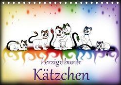 herzige bunte Kätzchen (Tischkalender 2018 DIN A5 quer) von Haberhauer,  Petra