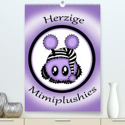 herzige Mimiplushies (Premium, hochwertiger DIN A2 Wandkalender 2020, Kunstdruck in Hochglanz) von Creation / Petra Haberhauer,  Pezi