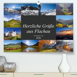 Herzliche Grüße aus Flachau (Premium, hochwertiger DIN A2 Wandkalender 2020, Kunstdruck in Hochglanz) von Kramer,  Christa