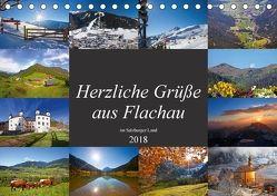 Herzliche Grüße aus Flachau (Tischkalender 2018 DIN A5 quer) von Kramer,  Christa