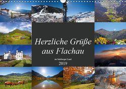 Herzliche Grüße aus Flachau (Wandkalender 2019 DIN A3 quer) von Kramer,  Christa