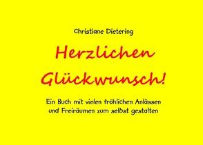 Herzlichen Glückwunsch! von Dietering,  Christiane