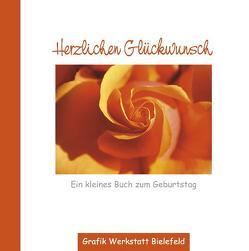 Herzlichen Glückwunsch von Becker,  Reinhard, Grafik Werkstatt Bielefeld, Mariss,  Jochen