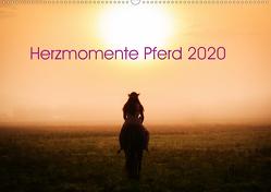Herzmomente Pferd 2020 (Wandkalender 2020 DIN A2 quer) von Gauger,  Jenny