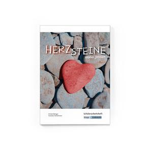 Herzsteine von Hanna Jansen – Schülerheft Klasse 10 von Heinzelmann,  Franziska, Metzger,  Christel