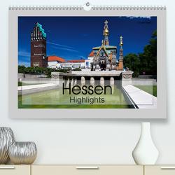 Hessen Highlights (Premium, hochwertiger DIN A2 Wandkalender 2020, Kunstdruck in Hochglanz) von boeTtchEr,  U