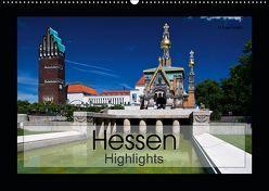 Hessen Highlights (Wandkalender 2019 DIN A2 quer) von boeTtchEr,  U