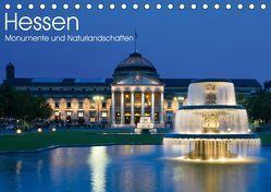 Hessen – Monumente und Naturlandschaften (Tischkalender 2019 DIN A5 quer) von Schonnop,  Juergen