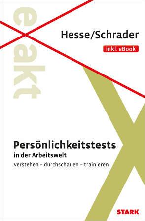 STARK Hesse/Schrader: EXAKT Persönlichkeitstests + eBook