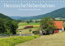 Hessische Nebenbahnen – Unterwegs in Nordhessen (Tischkalender 2021 DIN A5 quer) von Ornamentum,  Partum