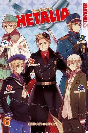 Hetalia – Axis Powers 06 von Himaruya,  Hidekaz