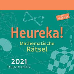 Heureka – Mathematische Rätsel 2021 – Tageskalender von Hemme,  Heinrich