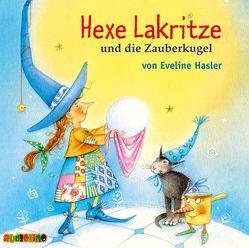 Hexe Lakritze und die Zauberkugel von Hasler,  Eveline, Kaempfe,  Peter