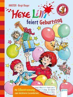 Hexe Lilli feiert Geburtstag von Knister, Rieger,  Birgit