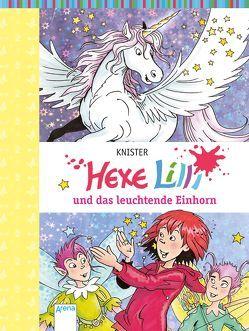 Hexe Lilli und das leuchtende Einhorn von Knister, Rieger,  Birgit