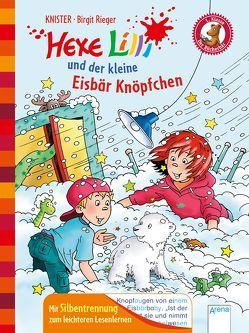 Hexe Lilli und der kleine Eisbär Knöpfchen von Knister, Rieger,  Birgit