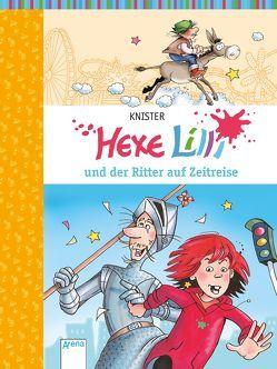Hexe Lilli und der Ritter auf Zeitreise von Knister, Rieger,  Birgit
