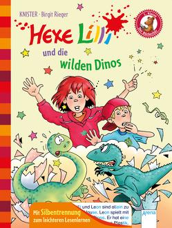 Der Bücherbär. Erstlesebücher für das Lesealter 1. Klasse / Hexe Lilli und die wilden Dinos von Knister, Rieger,  Birgit