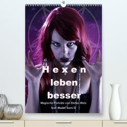 Hexen leben besser (Premium, hochwertiger DIN A2 Wandkalender 2021, Kunstdruck in Hochglanz) von Weis,  Stefan