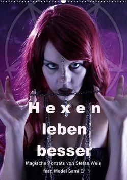 Hexen leben besser (Wandkalender 2019 DIN A2 hoch)