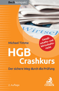 HGB Crashkurs von Timme,  Michael