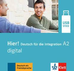 Hier! A2 digital von Anane,  Susanne, Geiser,  Iris, Paschen,  Petra, Sokolowsky,  Celia, Weber,  Britta