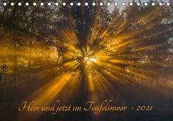 Hier und jetzt im Teufelsmoor – 2021 (Tischkalender 2021 DIN A5 quer) von Arndt,  Maren