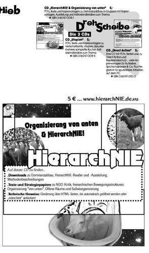 HierarchNIE! CD von Bergstedt,  Jörg, Neuhaus,  Patrick, Vollstedt,  Susann