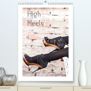 High Heels (Premium, hochwertiger DIN A2 Wandkalender 2021, Kunstdruck in Hochglanz) von Portenhauser,  Ralph