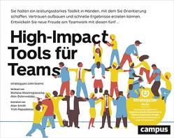 High-impact Tools für Teams von Mastrogiacomo,  Stefano, Osterwalder,  Alex, Papadakos,  Trish, Smith,  Alan, Wegberg,  Jordan