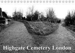 Highgate Cemetery London (Tischkalender 2019 DIN A5 quer)