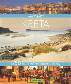 Highlights Kreta von Heeb,  Christian, Verigou,  Klio
